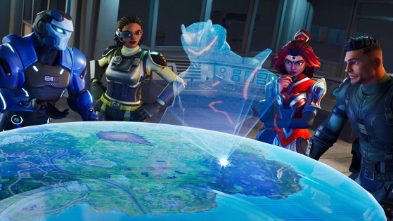 l etoile cachee de la semaine 3 du defi superproduction - fond ecran omega fortnite