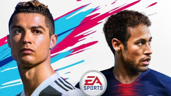 FIFA 19 : la jaquette avec Cristiano Ronaldo et Neymar