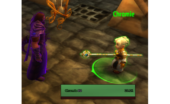 Chromie dans World of Warcraft - Hearthstone