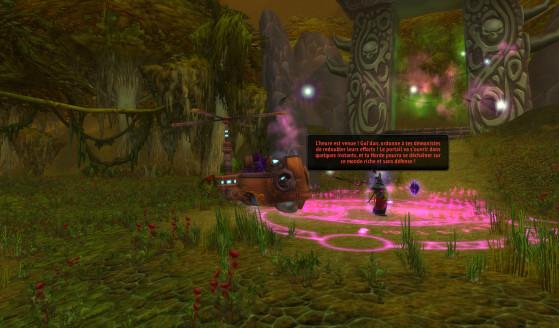 Medivh et son cercle de puissance, la cible du Vol Infini - Hearthstone