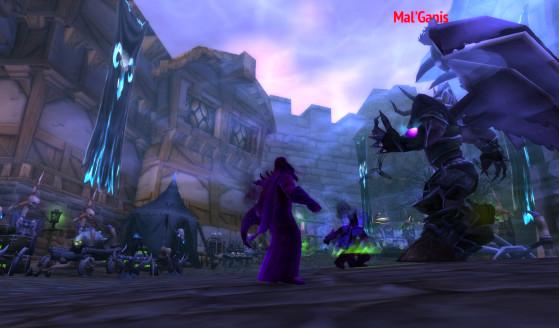 Qui finira par retrouver Mal'Ganis, avant de le poursuivre aux confins de la Terre - Hearthstone