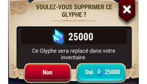 La manipulation des glyphes est coûteuse. Pendant toute la durée de l'événement, dites adieu à ce message si rageant ! - Might & Magic : Elemental Guardians