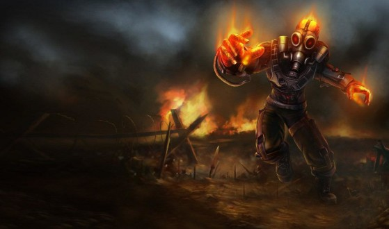 Brand apocalyptique : 375 RP - League of Legends