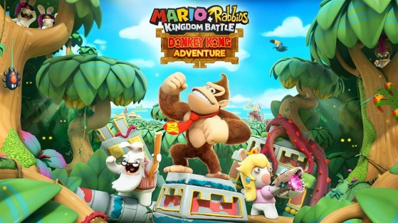 1f9923c6367 Mario + The Lapins Crétins : Donkey Kong Adventure, DLC, Test (Switch)