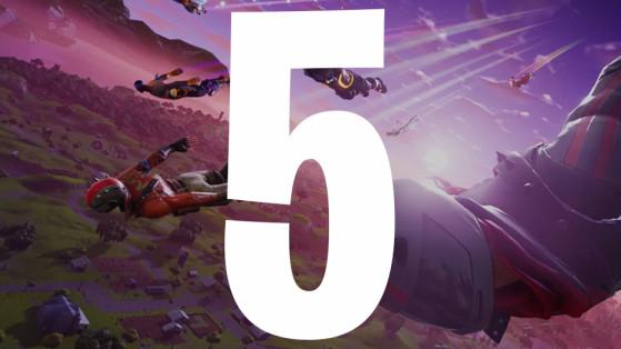 Fortnite : saison 5, date, informations et nouveautés