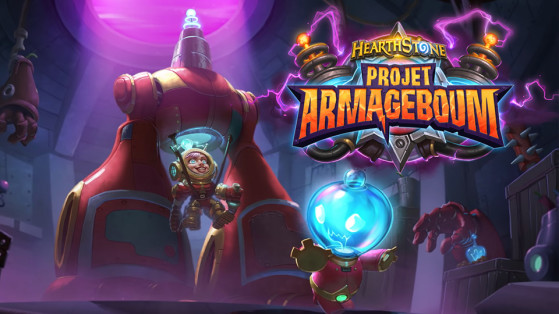Hearthstone extension Projet Armageboum : planning reveal, live reveal