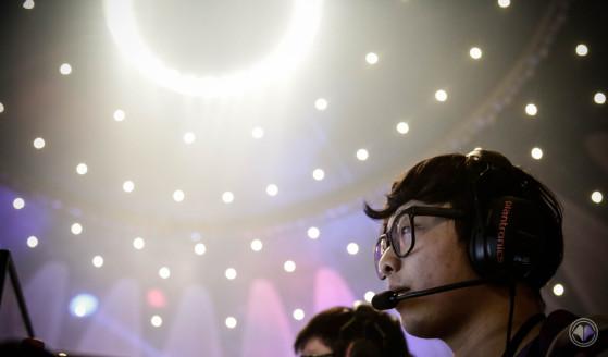 Mimic, joueur coréen de Millenium lors du Spring Split LCS 2017. - Millenium