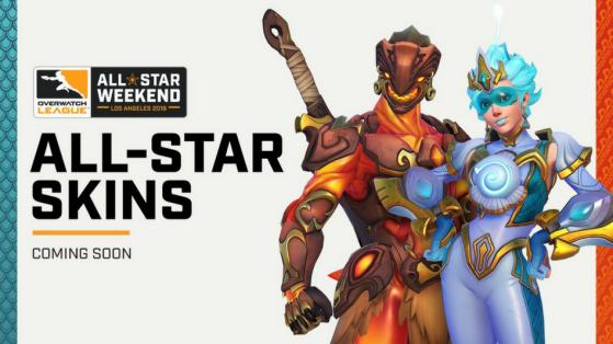 Résultats Overwatch League Weekend All Star et obtention des Skins