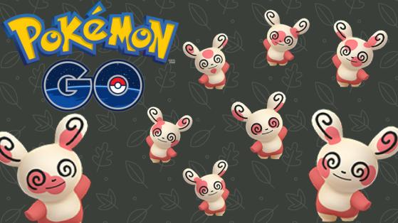 Pokémon GO : Capturer toutes les formes de Spinda