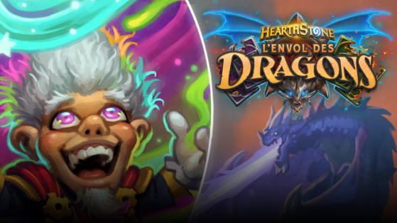 Hearthstone Envol des Dragons : decks aléatoires de Mystifix le Magnifique