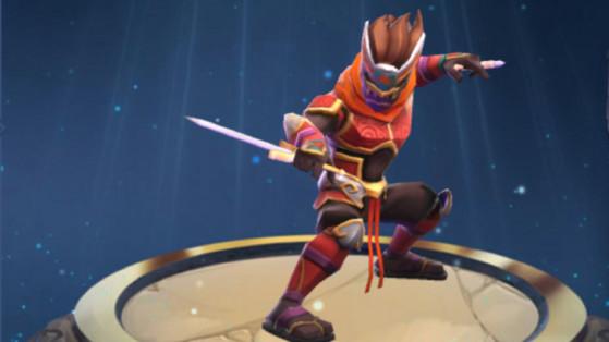 MMEG : Glyphes Ninja kabuki feu, build et runes