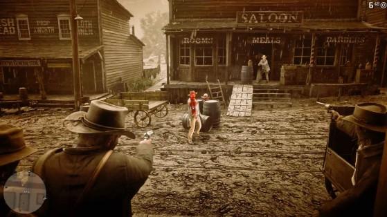 Le niveau 3 du système Dead Eye. - Red Dead Redemption 2