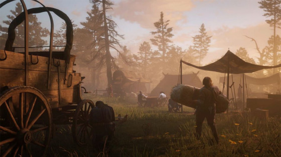 Guide Red Dead Redemption 2 : Campement, Gang de Dutch