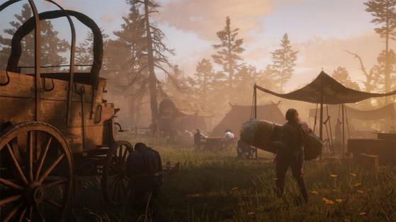 Guide Red Dead Redemption 2 : Campement, Gang de Dutch