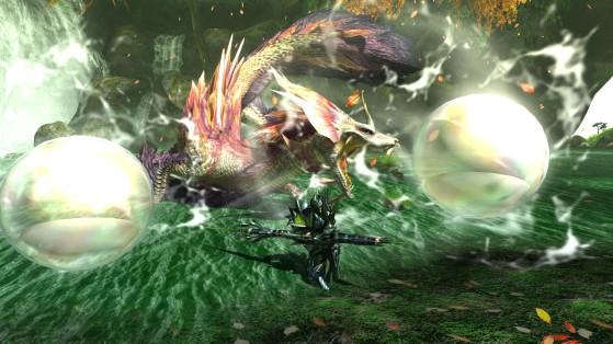 Presque tous les monstres sont au rendez-vous, et donc leurs armes et armures. C'est incontestablement le point fort de MHGU (ça et un joystick à droite). - Top Jeux