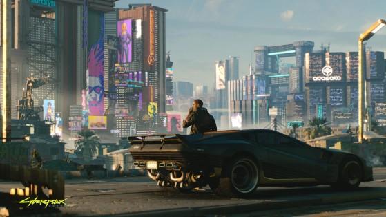 Je cherche encore les mots pour décrire le niveau de flow de cette voiture. - Cyberpunk 2077