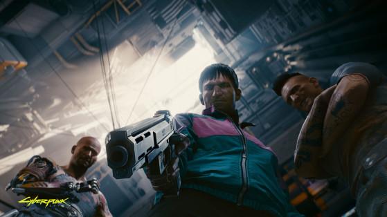 Les méga-immeubles des quartiers pauvres appartiennent tout bonnement aux gangs. - Cyberpunk 2077