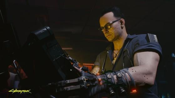 L'homme qui arrache des yeux sans sourciller. - Cyberpunk 2077