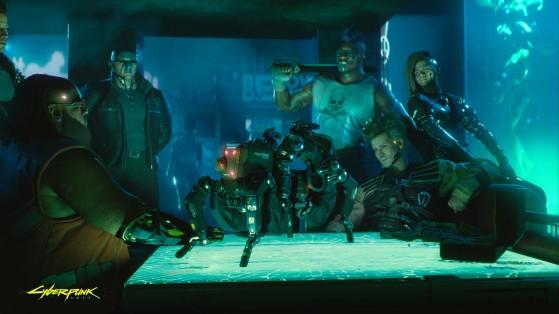 En 2077, si t'as pas du métal dans la tête, t'es pas cool. - Cyberpunk 2077