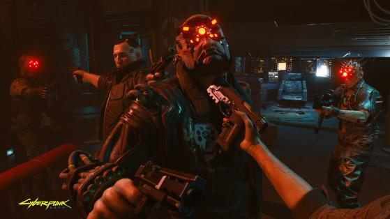 Ça c'est une négociation pendant laquelle on ne s'ennuie pas. - Cyberpunk 2077