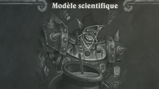 Hearthstone, Bras de fer : Modèle scientifique