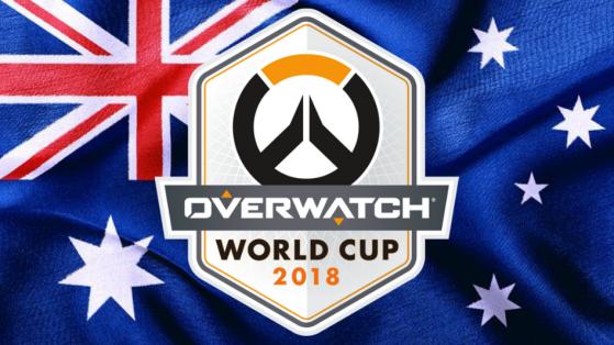 Overwatch Coupe du monde 2018 : Equipe Australie