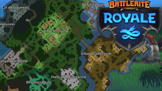 Battlerite Royale : Où Drop sur la carte