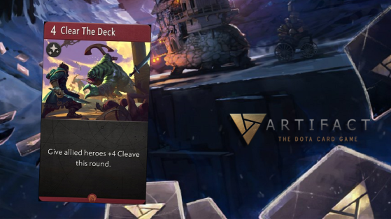 Artifact : Clear the Deck