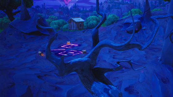 Fortnite : emplacement des zones corrompues