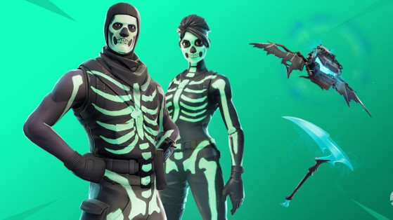 Fortnite : skins squelette, brigade du crâne