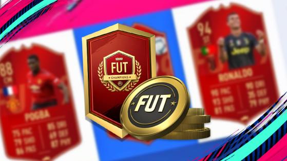 FUT 19 : récompenses FUT Champions, packs choix de joueur