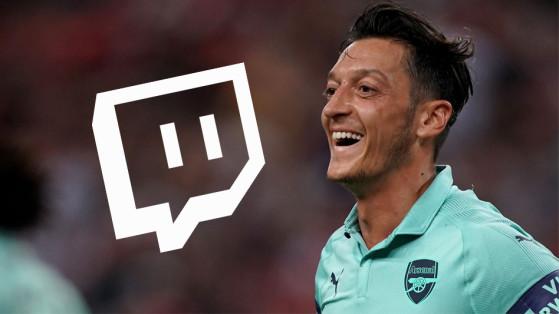 Mesut Özil a crée sa chaîne Twitch