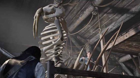 Guide Red Dead Redemption 2 : Os de dinosaure, dinosaur bones