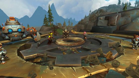 Le prince Erazmin aux côtés de Supretincelle et Gazleu - World of Warcraft