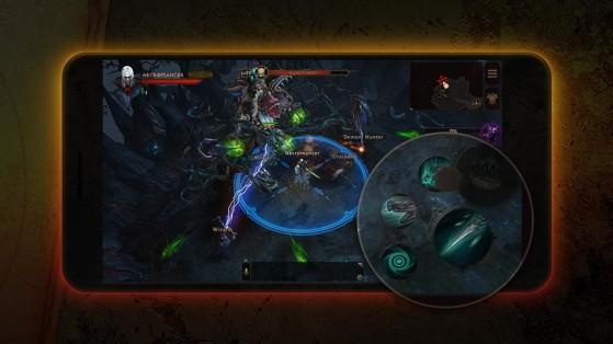 Diablo Immortal : Commandes, Contrôles,  iOs, iPad, Android