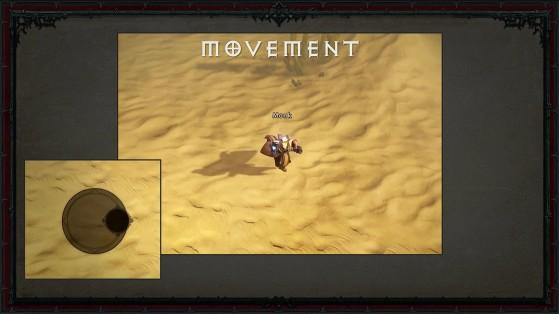 Le stick virtuel - Diablo Immortal