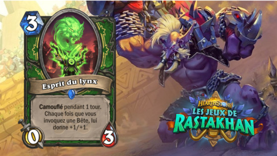 Hearthstone Jeux de Rastakhan : Esprit du Lynx (Spirit of the Lynx)