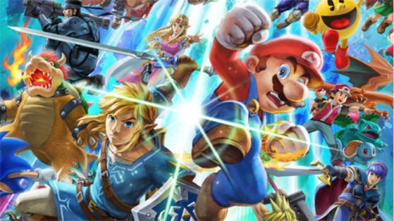 Test Super Smash Bros Ultimate sur Nintendo Switch