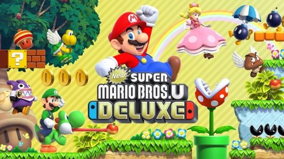 Test New Super Mario Bros. U Deluxe sur Nintendo Switch