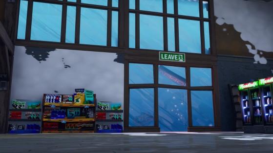 Fortnite : trouver la lettre N sous un lac gelé