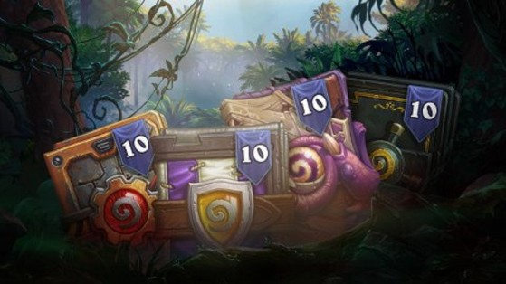 Hearthstone : bundle extensions Libre, boosters Wild