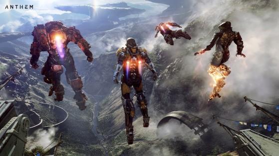 Test Anthem sur PS4, Xbox One et PC, review