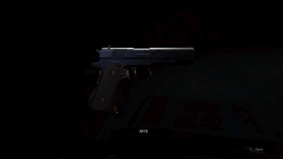 Le M19 de Leon - RESIDENT EVIL 2, BIOHAZARD RE:2