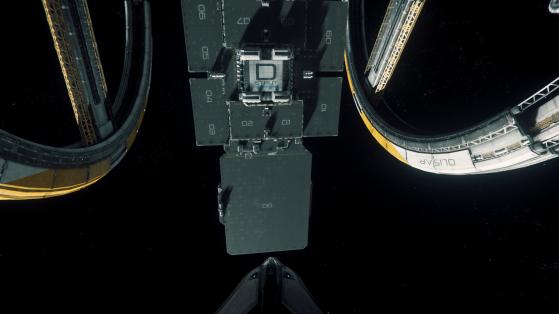 Une baie d'atterrissage complète - Star Citizen