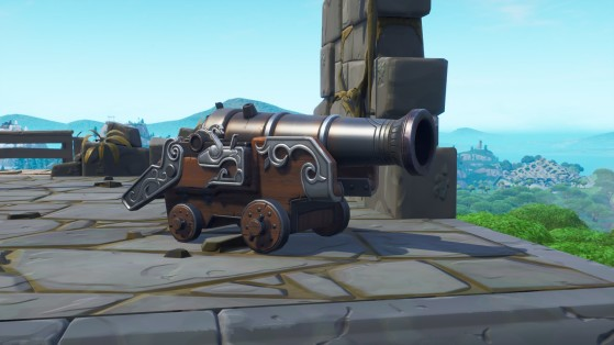 Fortnite : canons, emplacements, lieux