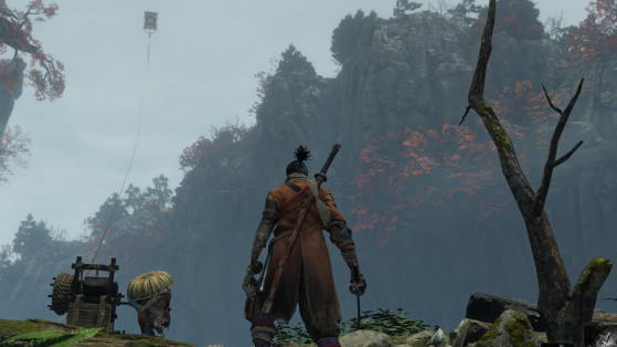 Guide Sekiro : Utilité du Cerf-volant, grand serpent, temple