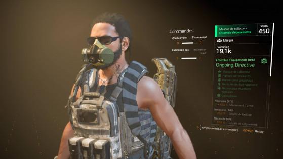 Guide The Division 2 : Gear Set, Ensembles d'équipements, loot vert