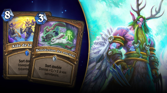 Hearthstone : deck Druide Token L'Eveil des Ombres (Rise of Shadows)