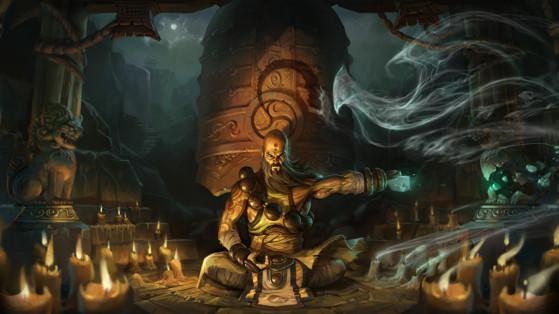 Diablo 3 : Build Moine Héritage des cauchemars, hors-set, LoN