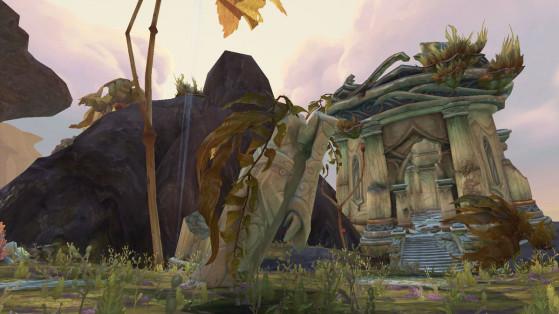 4. La Flèche de Thoras'tal au Sud-Ouest - World of Warcraft